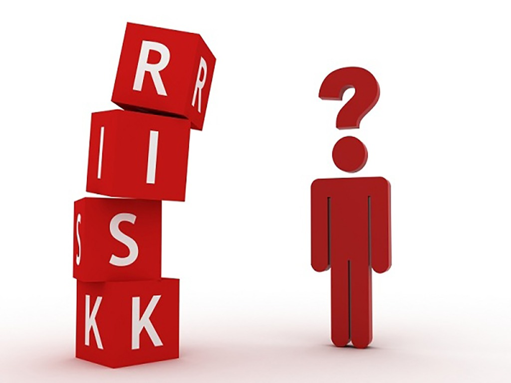 What is the risk on the stock market and can be divided into several categories